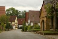 Straßenzug im Ortsteil Langenstadt