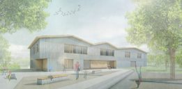 Bischofsgrün_1.Preis - Perspektive (KO/OK Architektur   Impuls° Landschaftsarchitekten)