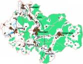 Mittleres Fuldatal: Regionales Entwicklungskonzept: Übersicht der sieben beteiligten Kommunen