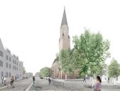 Apolda: Visualisierung Melanchthonplatz
