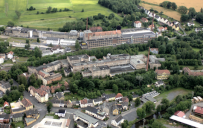 Arzberg: Blick auf das Schumannareal