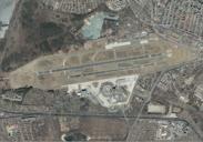 Berlin: Luftbild Flughafen Tegel
