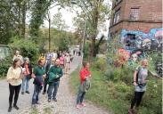 Spaziergänge und Workshops in verschiedenen Ortsteilen Iserlohns im September 2018