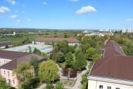 Campus der Universität Erfurt
