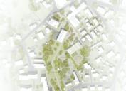 Entwurf für das Areal von KO_OK Architekten