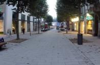 Fulda: Neu gestaltete Bahnhofsstraße 2013 (Foto: Osthessen-Zeitung)