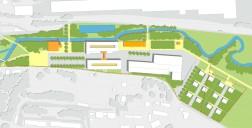 Markt Oberkotzau: Nutzungsmix im Landschaftspark - Gestaltplan