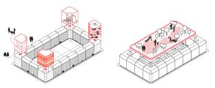Görlitz: Nutzungsvarianten für bisher wenig attraktive Ecken und Zugewinn an Wohnqualität durch gemeinsamen Freiraum im Blockinneren