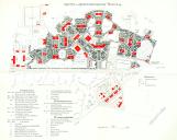 Historischer Lageplan der ehemaligen Irrenanstalt