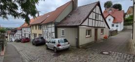 Wohnstraße zwischen Alt- und Neustadt