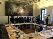 Berlin Marinehaus: Preisgerichtssitzung im Hoffmann-Saal des Märkischen Museums