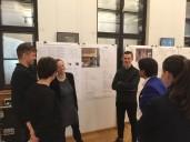 Berlin Marinehaus: 1.Preis ADEPT vor ihrer Arbeit