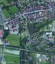 Kemnath mit Wettbewerbsgebiet / Luftbild