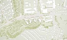 Stuttgart: Lageplan Entwurf