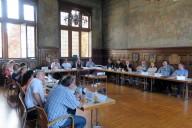 Lorsch: Lenkungsrunde Präsentation von Inhalten