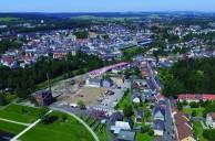 Marktredwitz_Kinderhaus Lageplan im Benker-Areal
