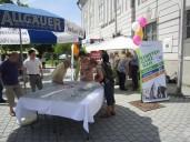 Kempten: Bürgerbeteiligung am Marktstand