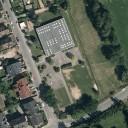 Mühlheim am Main: Luftbild der Markwaldschule, Quelle: Stadt Mühlheim am Main