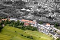 Arzberg: Winterling-Komplex Schrägluftbild