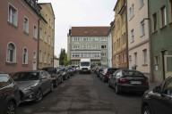 Ruhender Verkehr Roßbrunnenstraße